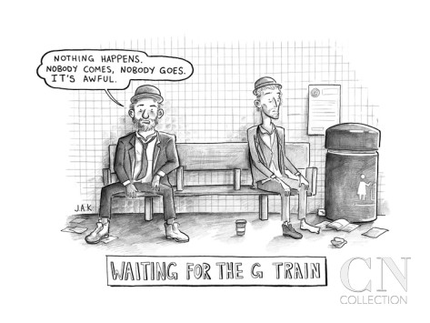 jason-adam-katzenstein-waiting-for-the-g-train-parody-of-waiting-for-godot-new-yorker-cartoon