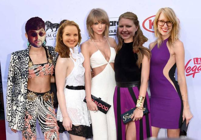 who isn't in taylor swift's squad